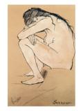 Sorrow Premium Giclee Print by Vincent van Gogh