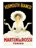 Martini and Rossi Premium Giclee-trykk av Marcello Dudovich