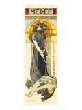 Medea Lámina giclée prémium por Alphonse Mucha