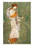 Pompeian Art, Diana Premium Giclee-trykk