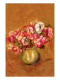 Large Anemones Premium Giclee Print by Pierre-Auguste Renoir