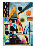Balancement Giclee-tryk i høj kvalitet af Wassily Kandinsky