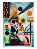 Balanceo Lámina giclée de primera calidad por Wassily Kandinsky