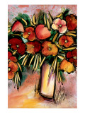 Spring Bouquet Premium Giclee Print by Domenico Provenzano