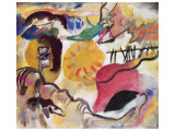 Improvisation No. 27 (The Garden of Love), c.1912 Premium Giclee Print by Wassily Kandinsky