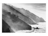 Costa del gran Sur, California Lámina giclée premium