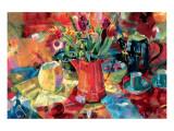Cruche de fleurs Reproduction giclée Premium par Peter Graham