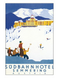 Sudbahn Hotel, Semmering, Austria Lmina gicle de primera calidad por Kosel Hermann