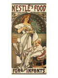 Nestle's Food for Infants Premium Giclee Print by Alphonse Mucha