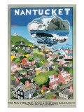 Nantucket Premium Giclee Print by John Jr. Held