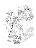 Diverting History of John Gilpin Premium Giclee Print by Randolph Caldecott