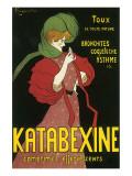 Katabexine Comprimes Effervescents Premium Giclee Print by Leonetto Cappiello