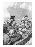 The Mutineers Giclee-tryk i høj kvalitet af George Varian