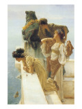 A Coign of Vantage Premium Giclee Print by Sir Lawrence Alma-Tadema