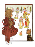 The Wonderful Wizard of Oz Premium Giclee Print by William W. Denslow