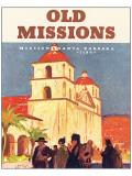 Old Missions Giclee-tryk i høj kvalitet