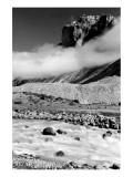 Rocky Landscape, Banff, Alberta Giclee-tryk i høj kvalitet
