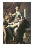 Madonna With The Long Neck Premium Giclee Print by  Parmigianino