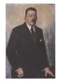 Friedrich Ebert Premium Giclee Print by Hans Baluschek
