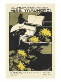 Miss Traumerei, Albert Morris Bagby's New Novel Premium Giclee Print by Monica Reed