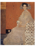 Portrait of Fritza Riedler Premium Giclee Print by Gustav Klimt