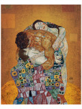 The Family Lmina gicle de primera calidad por Gustav Klimt