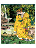 The Frog Prince Premium Giclee Print by Walter Crane