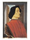 Giuliano de Medici Premium Giclee Print by Sandro Botticelli
