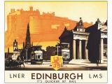 Edinburgh Premium Giclee Print