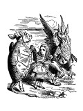 Alice's Adventure's in Wonderland Premium Giclee Print by John Tenniel