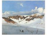 Herzogenhorn near Bernau Wydruk giclee premium autor Eugen Bracht