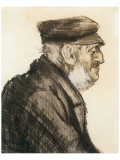 Orphan Man, Bust-Length Premium Giclee Print by Vincent van Gogh