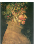 Verano Lmina gicle de primera calidad por Giuseppe Arcimboldo