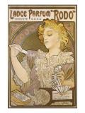 Lance Parfum Premium Giclee Print by Alphonse Mucha