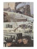 Winter during War Giclee-tryk i høj kvalitet af Hans Baluschek