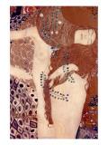 Watersnakes Premium Giclee Print by Gustav Klimt