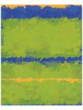 Carmine Thorner - No. 1967 Olive Green Blue Speciální digitálně vytištěná reprodukce
