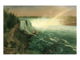 Niagara Premium Giclee Print by Albert Bierstadt