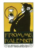 Fromme's Kalender Reproduction giclée Premium par Koloman Moser