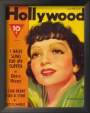 Claudette Colbert - HollywoodMagazineCover1940's Art