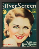 Norma Shearer - Silver Screen Magazine Cover 1940's Posters
