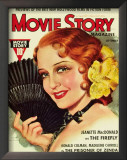 MacDonald, Jeanette - MovieStoryMagazineCover1940&#39;s Art