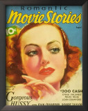 Joan Crawford - Romantic Movie Stories Magazine Cover 1930's Posters