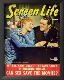 MacDonald, Jeanette - HollywoodScreenLifeMagazineCover1930&#39;s Print