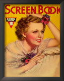 Irene Dunne - Screen Book Magazine Cover 1930's Posters