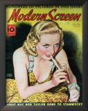 Carole Lombard - ModernScreenMagazineCover1940's Posters