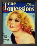 Thelma Todd - True Confessions Magazine Cover 1930's Posters