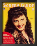 Barbara Stanwyck - Screen Guide Magazine Cover 1940's Posters
