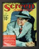 Tyrone Power - Screen Romances Magazine Cover 1930's Prints