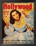 Hedy Lamarr - HollywoodMagazineCover1940's Posters
